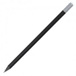 Czarny ołówek drewniany -...