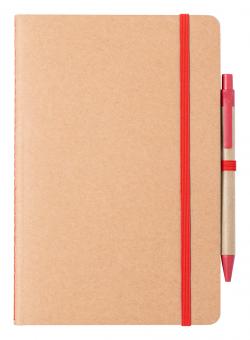 Notes A5 z 60 czystymi kartkami z długopisem - AP721879