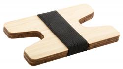 Uchwyt bambusowy na karty -...