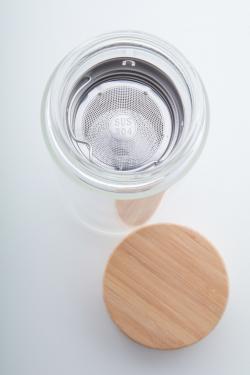 Szklana butelka termiczna -...