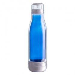 Szklana butelka w osłonie z...