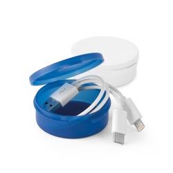 Kabel USB ze złączem 3 w 1...