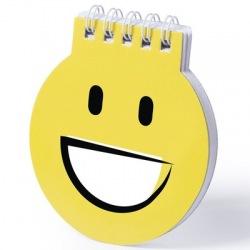 """Notatnik """"uśmiechnięta..."""