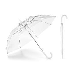 Przezroczysty parasol z...