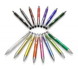 Długopis metalowy, czarny wkład - AS 19625