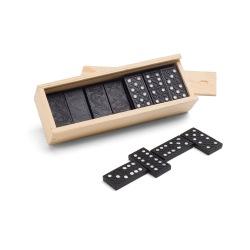 Gra Domino w drewnianym pudełku - ST 98004
