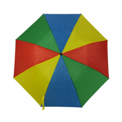 Dwukolorowy, składany parasol - V4215-99