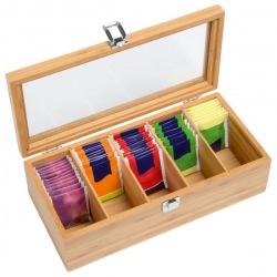 Bambusowe pudełko na herbatę - 56-0304405