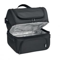 Termoizolacyjna torba chłodząca z 600D RPET z pojemnikiem wielokrotnego użytku - MO6287