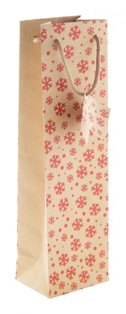 Świąteczna torba prezentowa na wino - AP808768
