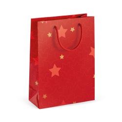 Mała torebka z papieru powlekanego z błyszczącą laminacją (170 g/m²) -  ST 92886
