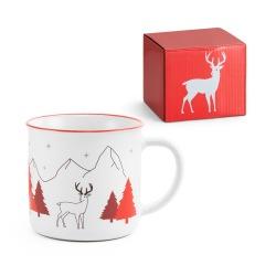 Kubek ceramiczny ze świąteczną dekoracją o pojemności do 350 ml - ST 94959