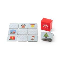 Gra pamięciowa, 20 elementów z motywami bożonarodzeniowymi - ST 98095