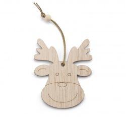 Zawieszka drewniana na choinkę - AS 08130