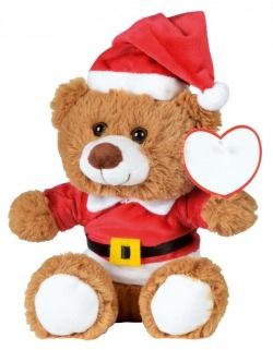 Świąteczny miś z miękkim futerkiem - 56-0502520