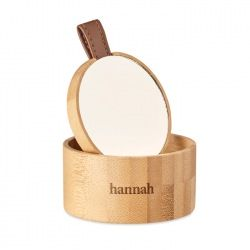 Małe bambusowe pudełko na biżuterię  - MO6303