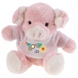Pluszowa świnka - HE287-21