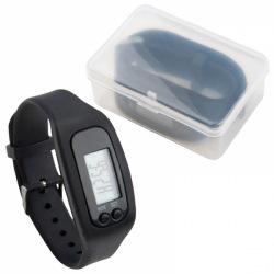 Opaska fitness z silikonu i plastiku - EG 084703