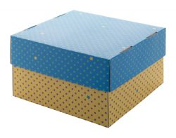 Personalizowane pudełko z tektury falistej z nadrukiem full kolor - AP716126