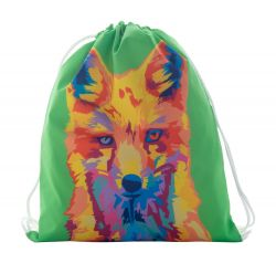 Personalizowany worek z kolorowymi sznurkami, dla dzieci - AP716413