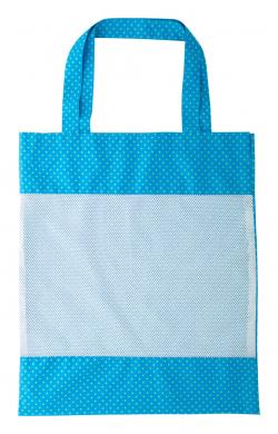 Personalizowana torba na zakupy z poliestru 190T, z przodem z siatki poliestrowej - AP716400