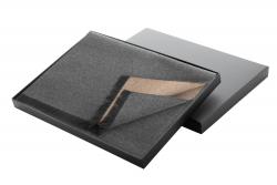 Elegancki szal męski, w czarnym prezentowym pudełku - AP800454
