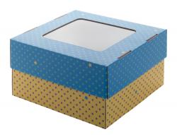 Personalizowane pudełko z tektury falistej z nadrukiem full kolor - AP716143