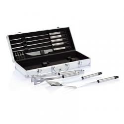 Zestaw do grilla w pudełku aluminiowym - P422.182