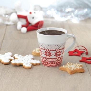 Kubki świąteczne /  Ceramika świąteczna