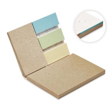 Karteczki samoprzylepne ekologiczne z nadrukiem